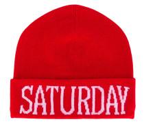 Saturday beanie hat - women - Kaschmir/Wolle