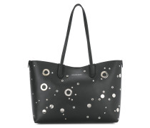 studded shopper tote