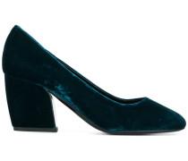 block heel pumps