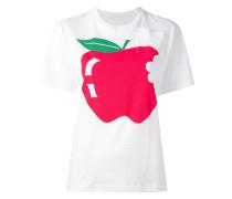 T-Shirt mit Apfel-Print