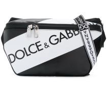 logo panel belt bag