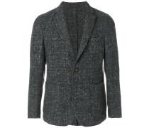 Tweed-Sakko mit langen Ärmeln