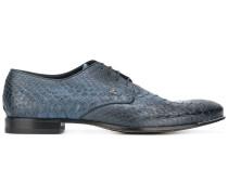 Derby-Schuhe aus Schlangenleder