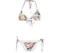 Mae Bikini mit Rosen-Print