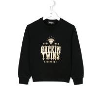 """Sweatshirt mit """"Rockin Twins""""-Print"""