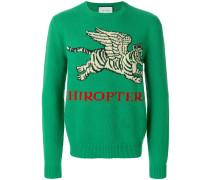 'Flying Tiger' Wollpullover