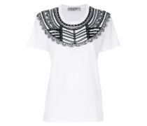 lace bib T-shirt
