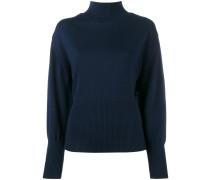 Rückenfreier Wollpullover - women - Wolle - 40