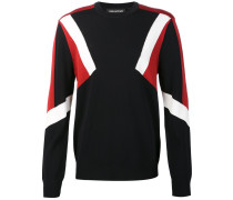 Sweatshirt mit Colour-Block-Optik