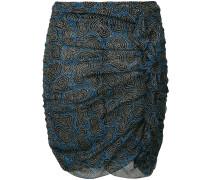 Edna printed chiffon skirt