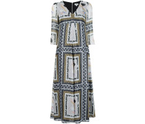 Kleid mit MetallicPrint
