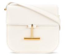 T clasp shoulder bag