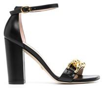 Sandalen mit Kettendetails