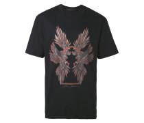 T-Shirt mit Papagei-Print - men - Baumwolle - M