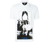 Poloshirt mit Foto-Print