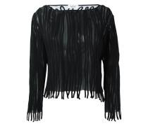 Pullover mit Streifenapplikationen - women