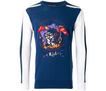 Medusa embroidered sweatshirt