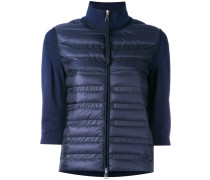 padded front sweater - women