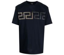 T-Shirt mit Greca-Detail