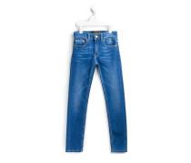 Klassische Jeans mit schmalem Bein