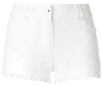 Shorts mit Rüschensaum - women - Baumwolle - 40