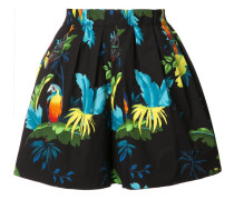- Shorts mit Papageien-Prints - women