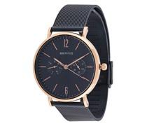 Texturierte Armbanduhr