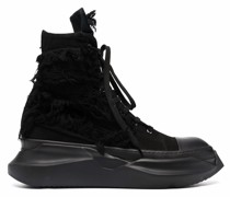 Abstract High-Top-Sneakers