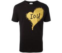 T-Shirt mit Herz-Print - men - Baumwolle - S