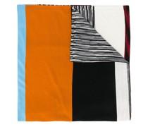 Schal mit Blockstreifen