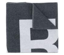 Oversized-Schal mit Logo