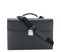 push-lock briefcase