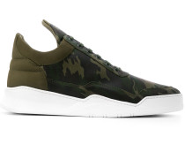 High-Top-Sneakers mit Camouflage-Print
