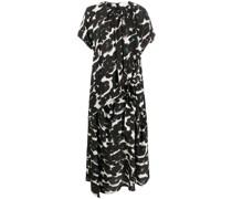 Damla midi silk dress