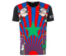 Popeye print T-shirt