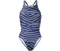 - zebra one-piece swimsuit - women