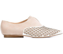pointed toe brogues