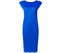 Mittellanges Kleid mit schmaler Pasform
