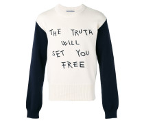 'The Truth' Pullover