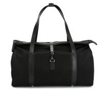 Reisetasche mit Lederborten