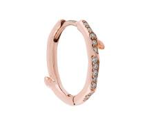 Cherry Branch diamond hoop earring
