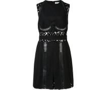 Kleid mit Spitzenapplikationen