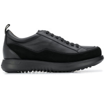 lace-up platform sole sneakers