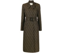 Trenchcoat mit Zucca-Muster
