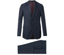 Monaco Selvage dot print suit - men - Bemberg