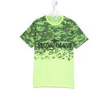 - teen pixelated print T-shirt - kids - Baumwolle