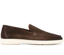 Loafer mit Kontrastferse