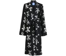 St Peters floral-print silk robe