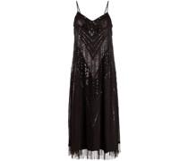 Ausgestelltes Kleid mit Verzierung