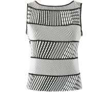 Gestreiftes Top - women - Polyester - 2